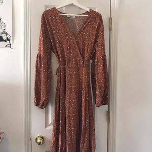 CJLA Alanna wrap dress